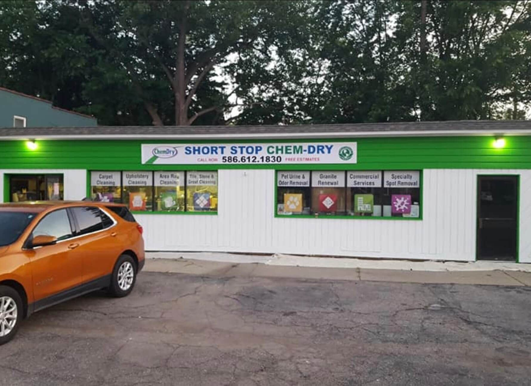 carpet and rug cleaning shop