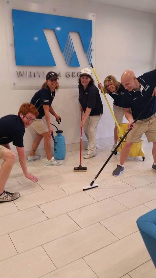 technicians tile cleaning team macomb mi