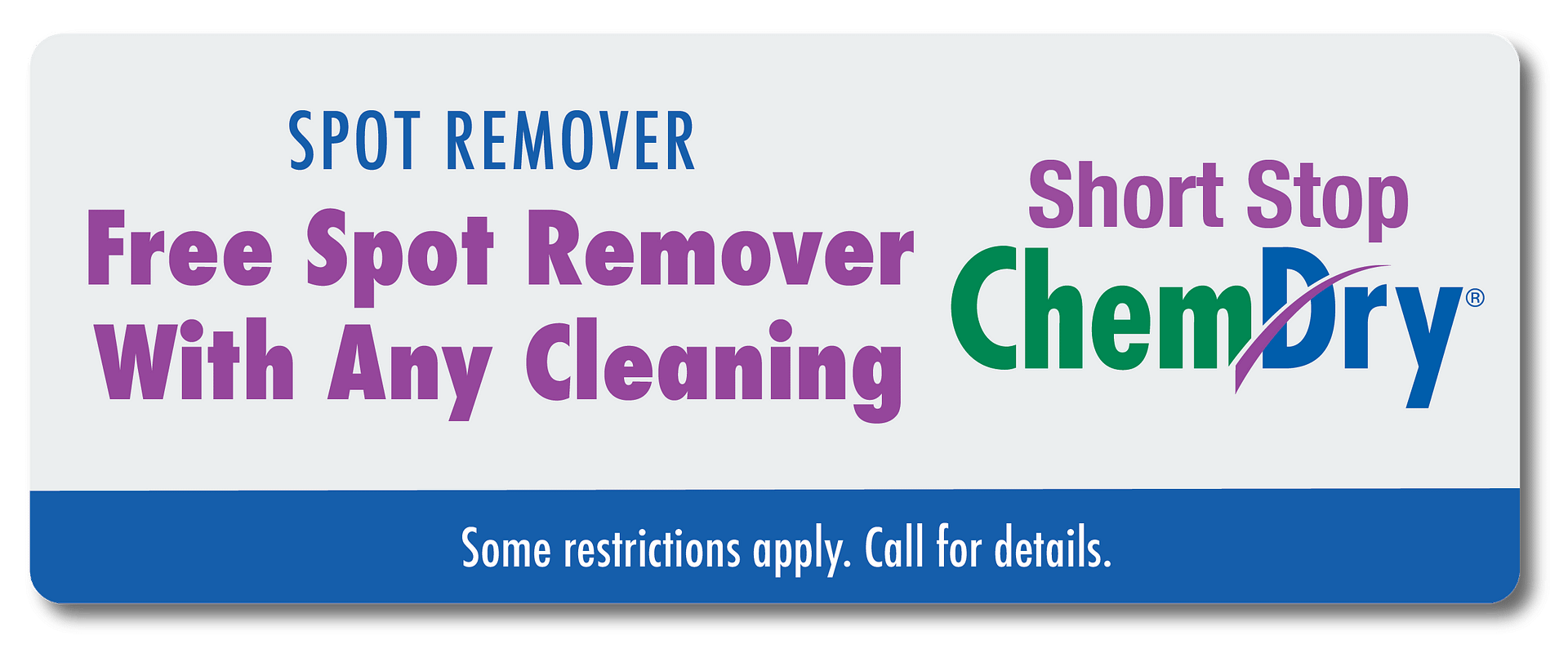 free spot remover with carpet cleaning coupon