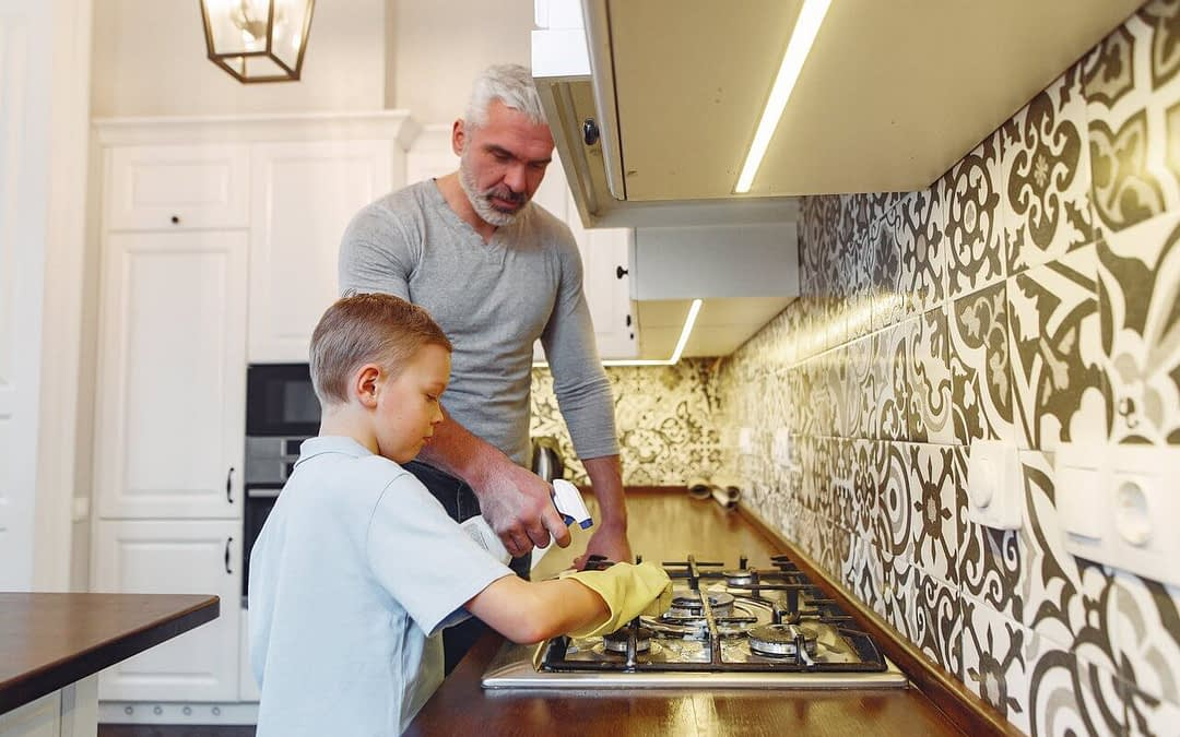 How to Get Kids Excited to Help with Household Chores